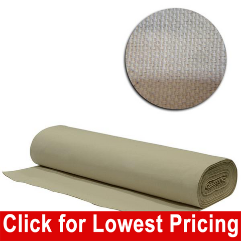 "Cotton Canvas 63"" full bolt - 25 meters - HomeTex.ca"