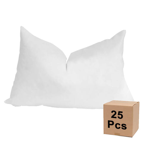 "Pillow Form 12"" x 18"" (Down Feather Fill) - Case Lot - 25 Pieces - HomeTex.ca"