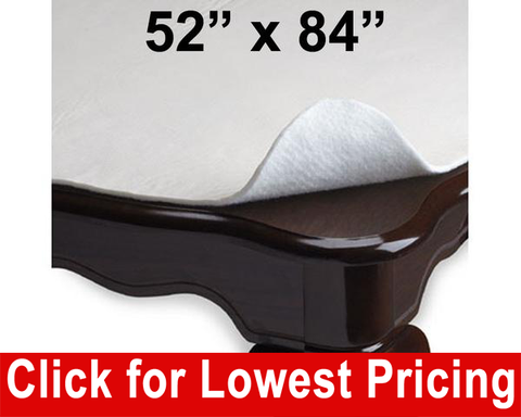 "Deluxe Table Pad/Protector 52"" x 84"" - HomeTex.ca"
