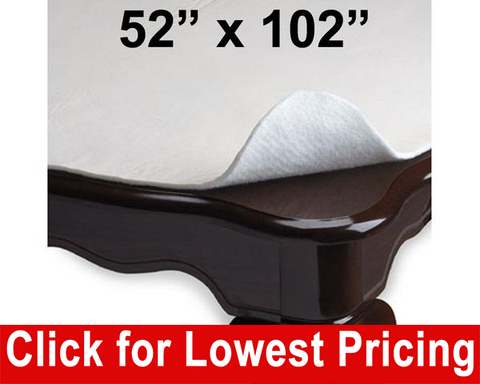 "Deluxe Table Pad and Protector 52"" x 102"" - HomeTex.ca"
