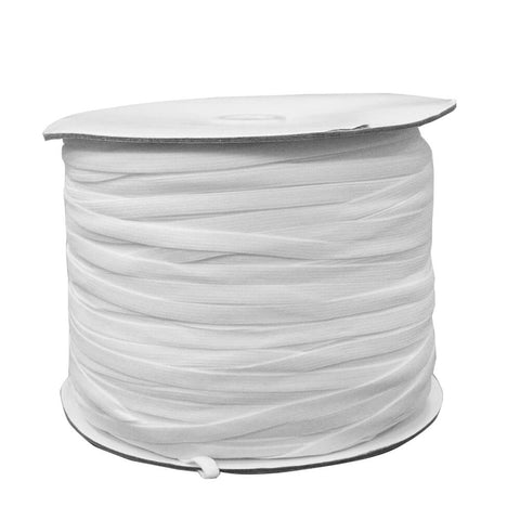 "1/4"" White Elastic Roll (320 Meters) - HomeTex.ca"