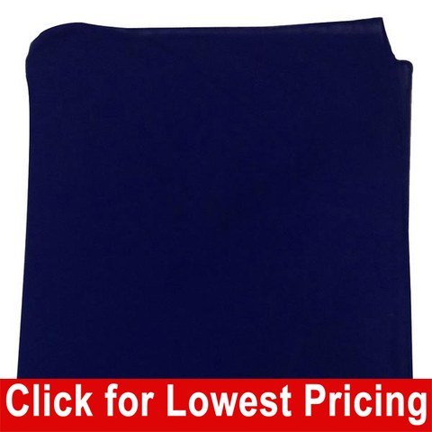 Navy Blue Bandanas - 100% Cotton - Solid Color Bandana - Single - HomeTex.ca