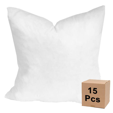 "Pillow Form 24"" x 24"" (Down Feather Fill) - Case Lot - 15 Pieces - HomeTex.ca"