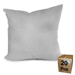"Pillow Form 18"" x 18"" (Synthetic Down Alternative) Case Lot - 20 Pieces"