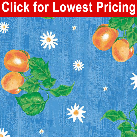 Printed Vinyl Tabling - Just Peachy (Full Roll) - 40 yards - HomeTex.ca