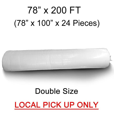 "Double Quilt Batting (78""x100"") 24 Piece Roll - HomeTex.ca"