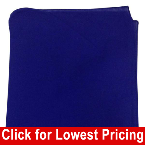 Royal Blue Bandanas - 100% Cotton - Solid Color Bandana - Single - HomeTex.ca