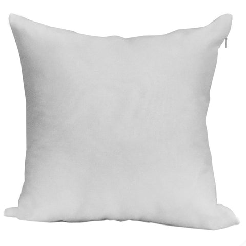 "Blank Sublimation Polyester Pillow Cover - 18"" x 18"" with zipper - HomeTex.ca"