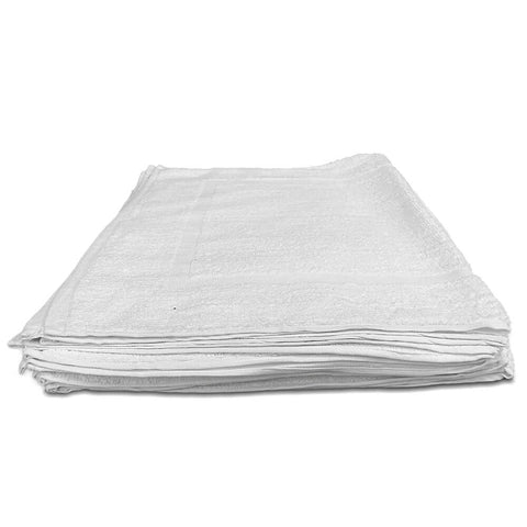 "Dz. White Terry Tub Mat Towel 20"" x 30"" - 7 lbs/dz - HomeTex.ca"