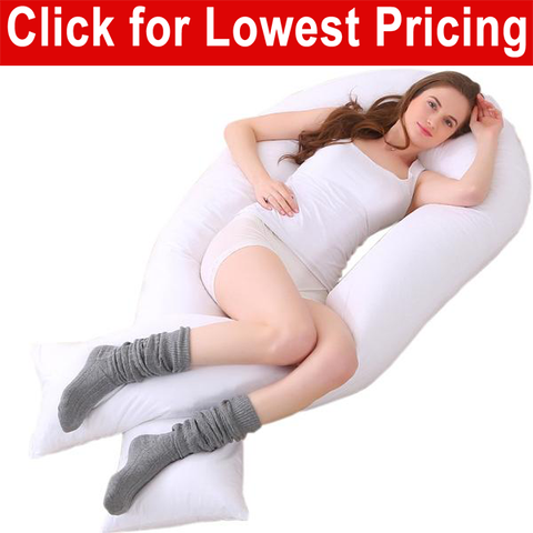 "Total Body Support Bed Pillow  16"" x 130"" - HomeTex.ca"