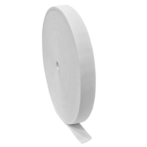 "1"" White Elastic Roll (54 Yards) - HomeTex.ca"