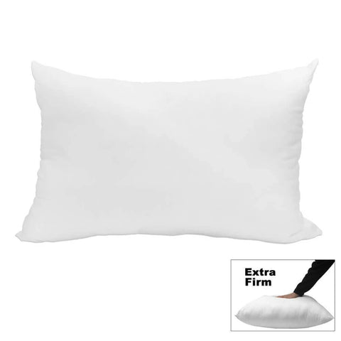 "Premium Bed Pillow 20"" x 36"" King Size (Extra Firm) - HomeTex.ca"