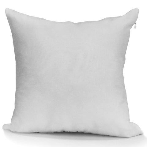 "Blank Sublimation Polyester Pillow Cover - 16"" x 16"" with 14"" wide zipper - HomeTex.ca"