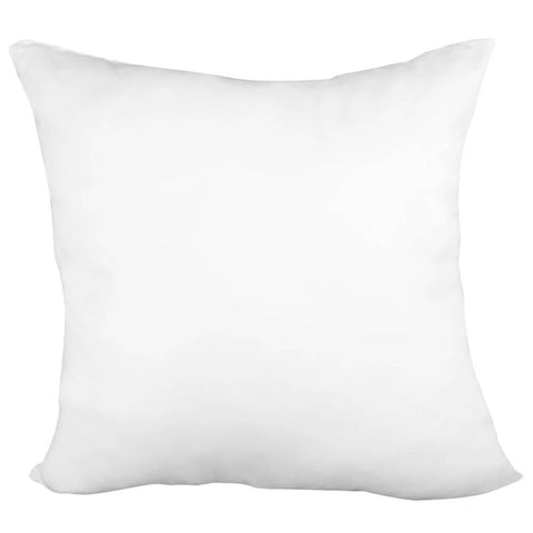 "Pillow Form 12"" x 12"" (Polyester Fill) - Premium Fabric Cover - HomeTex.ca"