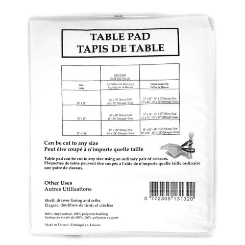 "Table Pad/Protector 52"" x 70"" - HomeTex.ca"