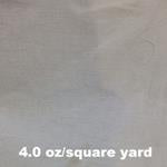 4.0 oz/square yard cotton