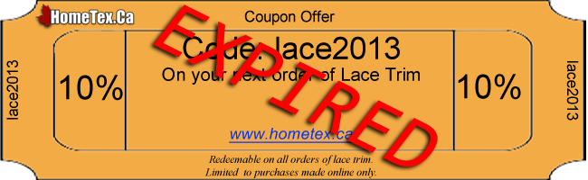 lace2013 Coupon Code