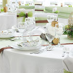 Polyester Wedding Tablecloth