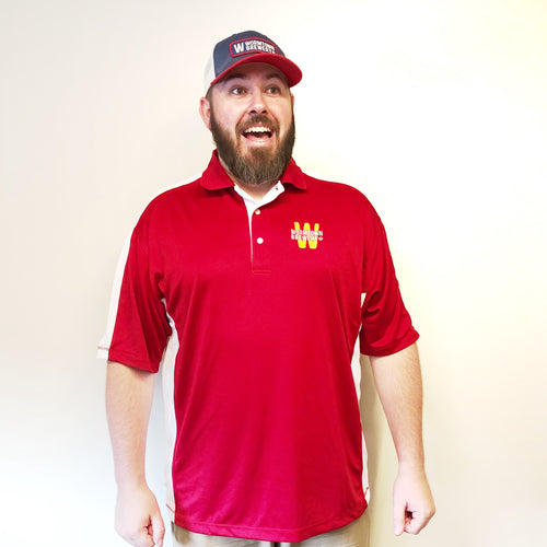 Wormtown Red Polo