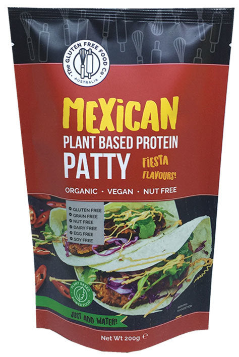 Gluten Free Meican Patty Mix 200g