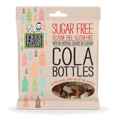 Sugar Free Cola Bottles 100g
