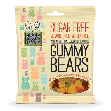 Sugar Free Gummy Bears 100g