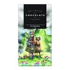 Wellington Chocolate Factory Peru Chocolate Bar 75g