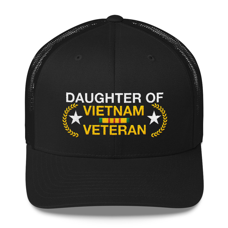 Daughter of Vietnam Veteran Embroidered Hat