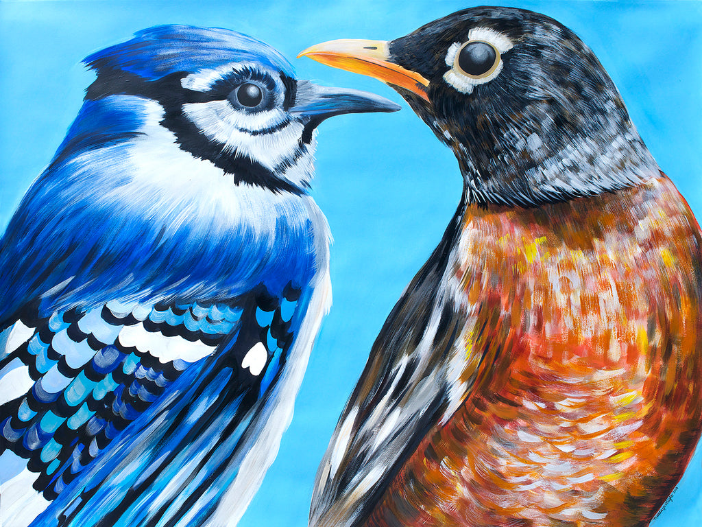 The BlueJay and The Robin