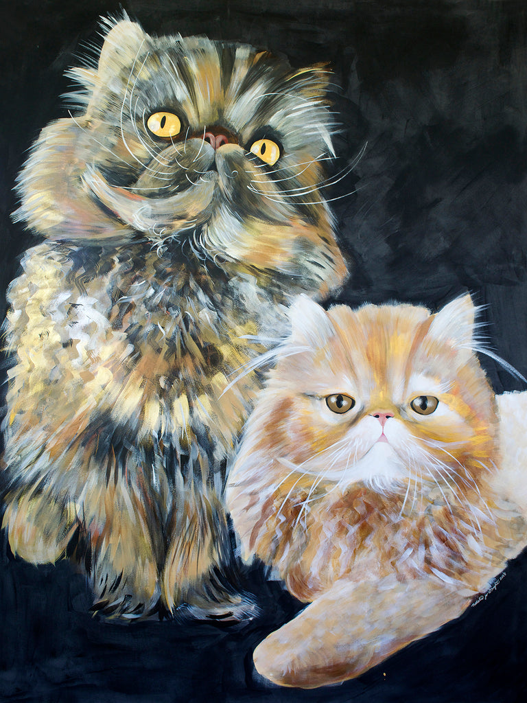 Janis & David- Commissioned Pet Portrait
