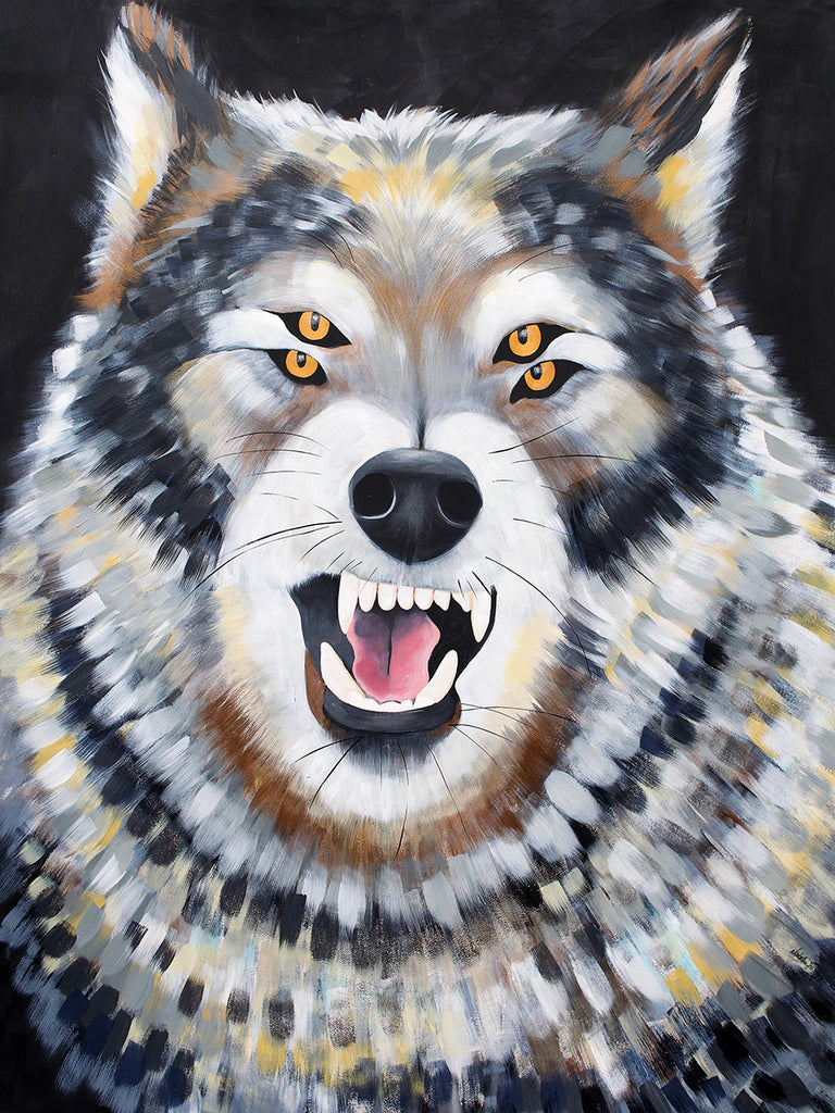 Wolf with Four Eyes, 2019