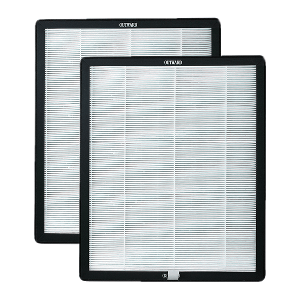 Set of 2 Activated Carbon/HEPA Filters