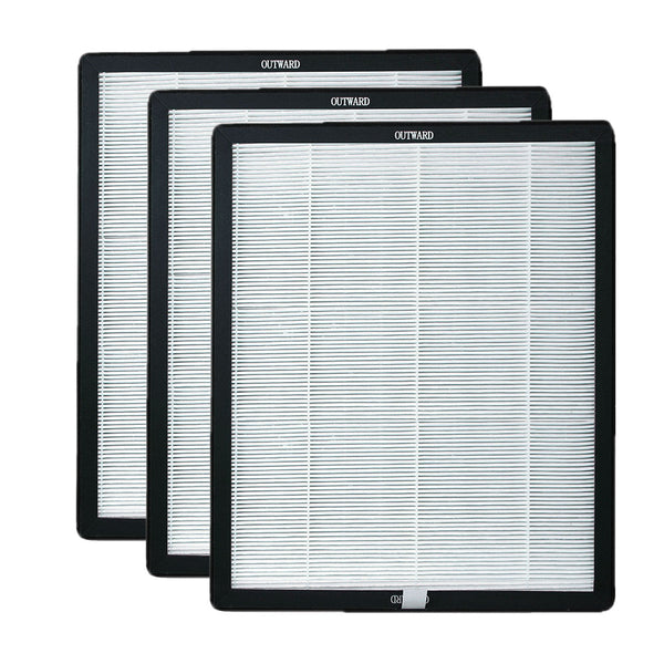Air Shield Activated Carbon/HEPA Filter 3-Pack