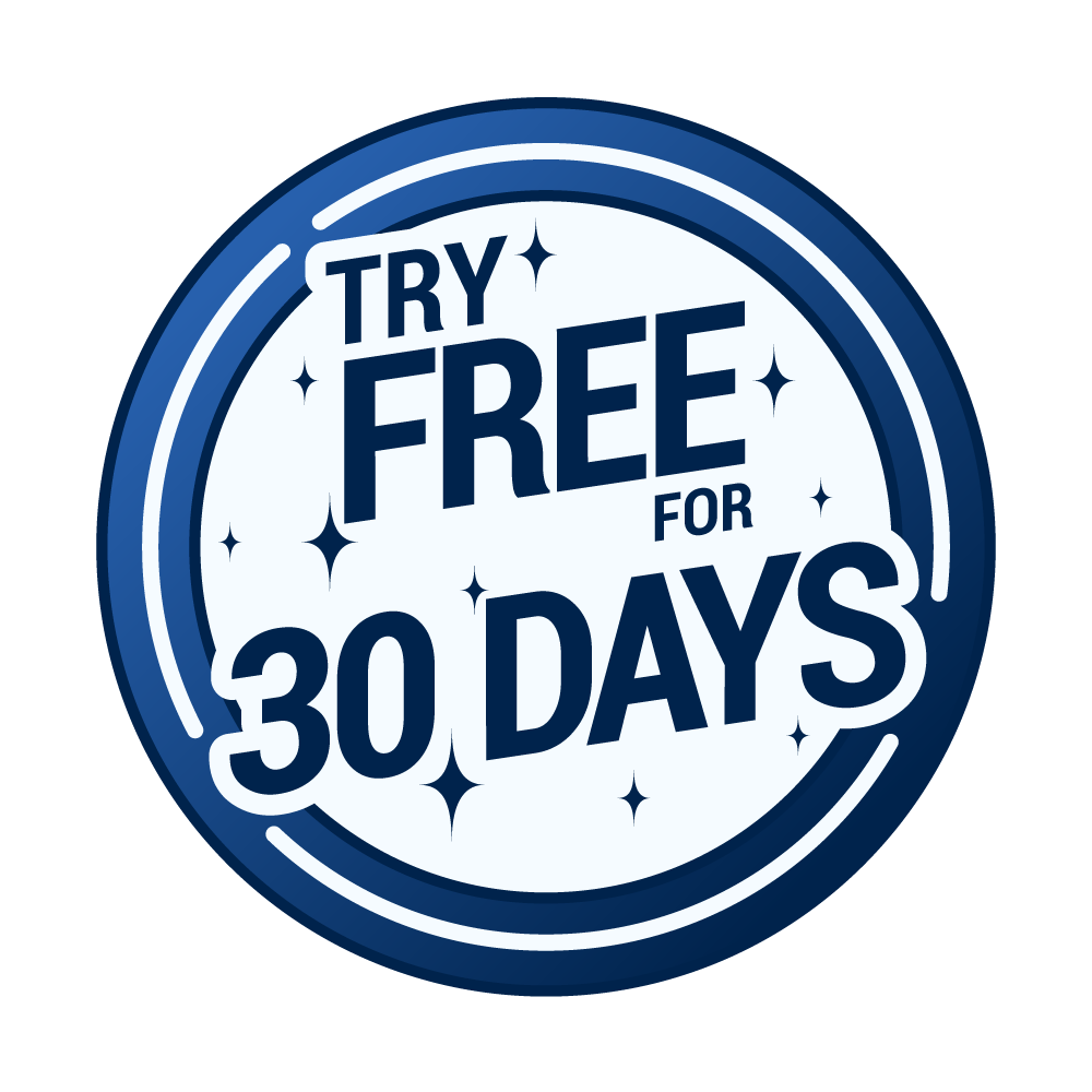 Try Free For 30 Days