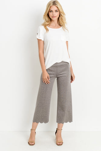 Scalloped Pants