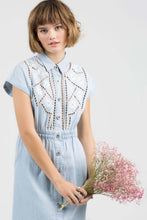Load image into Gallery viewer, Chambray Mid-Dress