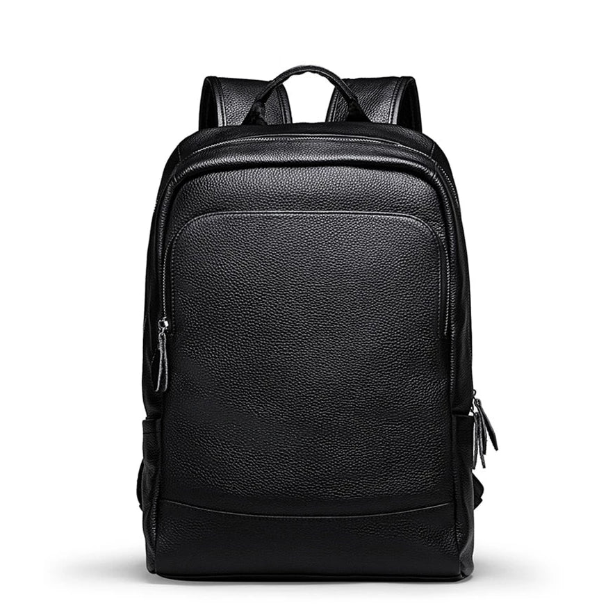 Simple Black Laptop Backpack - doitRight.store