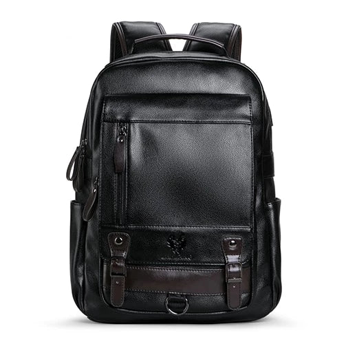 College Style Black Backpack - doitRight.store