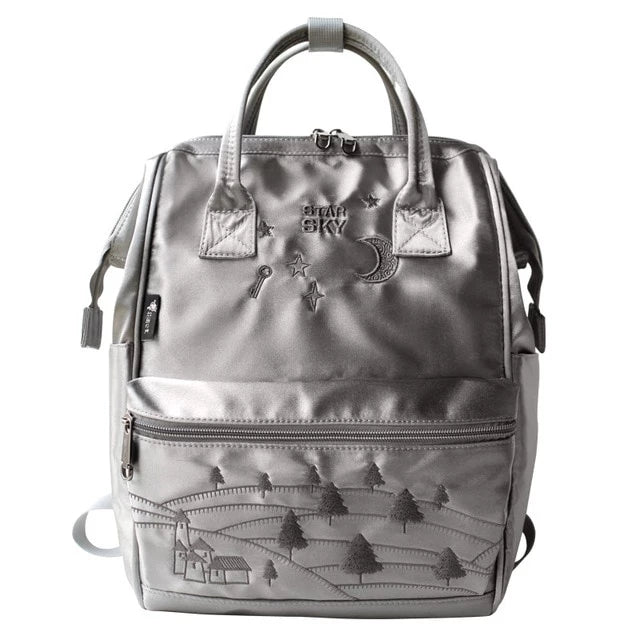 Star Sky Embroidery Backpack - doitRight.store