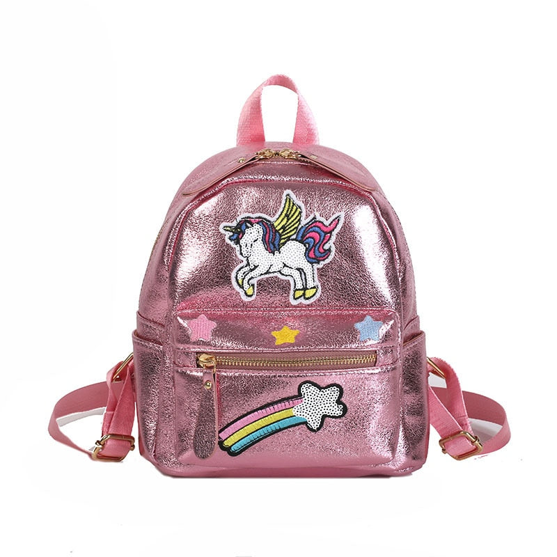 Unicorn Embroidery Backpack - doitRight.store