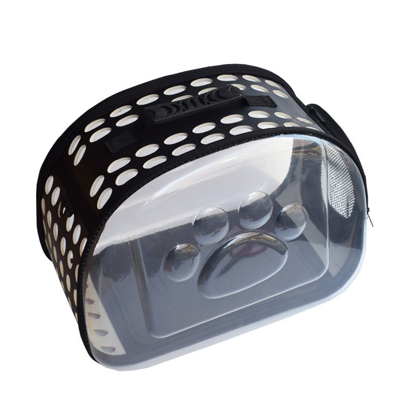 Transparent Folding Pet Carrier - doitRight.store