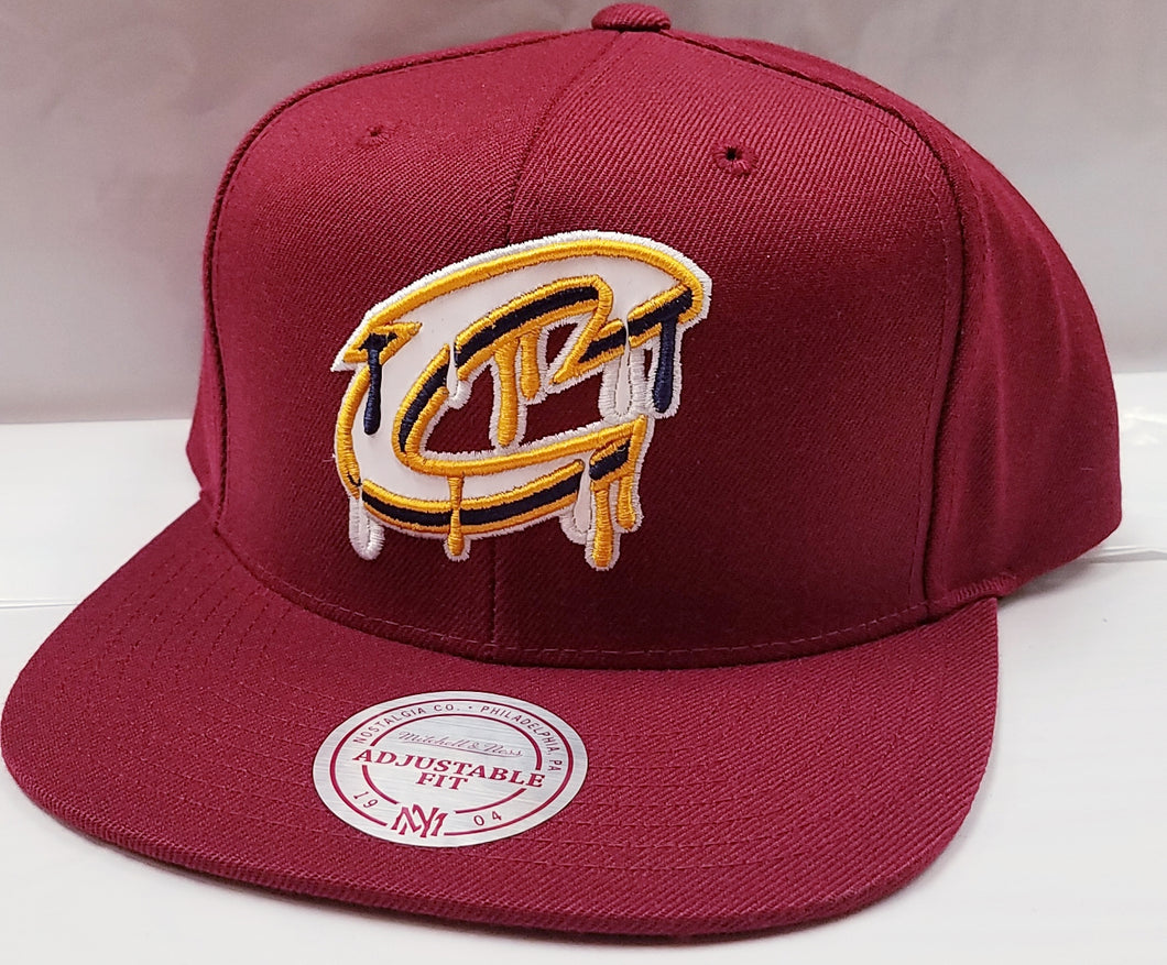 Mitchell & Ness Drip Cleveland Cavaliers Snapback