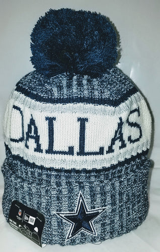 New Era Dallas Cowboys 2018 Onfield Beanies