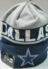 Load image into Gallery viewer, New Era Dallas Cowboys Chilled Cuff Beanie