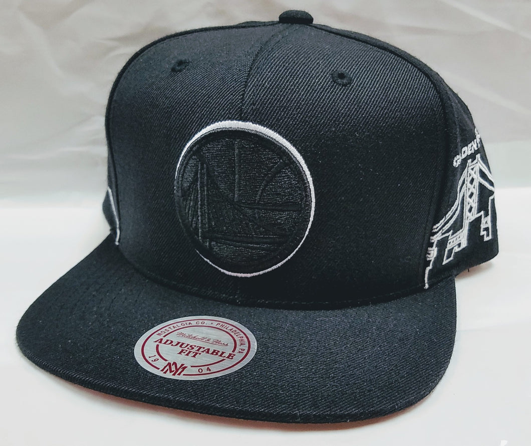 Mitchell & Ness Warriors City Scape Snapback