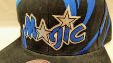 Load image into Gallery viewer, Mitchell & Ness Magic Hurricane Snapback