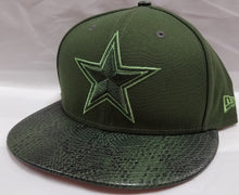 Load image into Gallery viewer, New Era Snakeskin Sleek Dallas Cowboys Snapback