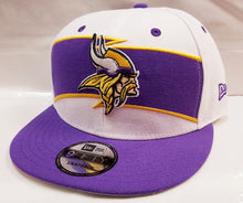 Load image into Gallery viewer, New Era Vikings 2018 On Field Thanksgiving Snapback