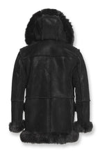 Load image into Gallery viewer, ASPEN SHEARLING JACKET (BLACK)