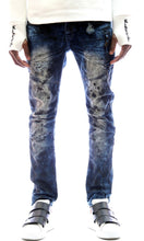 Load image into Gallery viewer, Kleep premium heavy washed stretchable cotton denim pants. kp-2170-fumee.